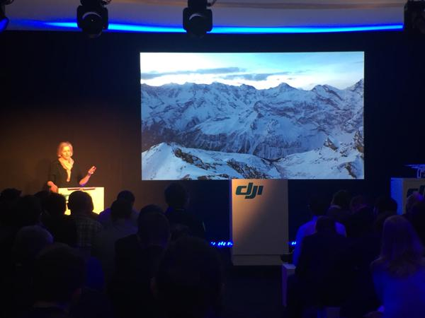 The Helicopter Girls speak at DJI Phantom 3 Launch about women in technology