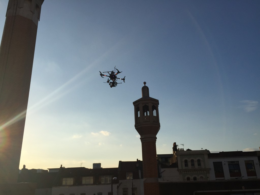 Flying Drones in Central London